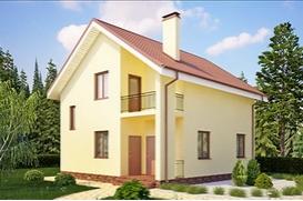 Коттедж площадью 150 м. кв. (проект К-150)